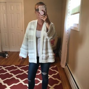 Loft sweater cardigan